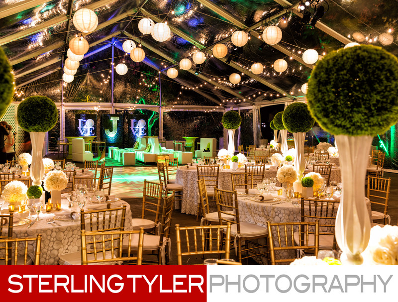 SRO S&R events bat mitzvah party decor with tent outdoors