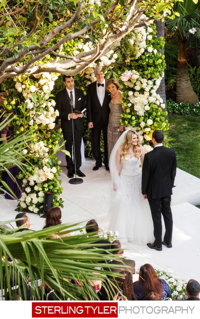 bride circles groom jewish custom beverly hills hotel