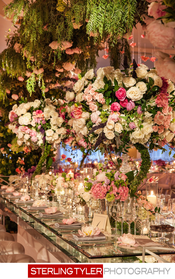 crystal ballroom wedding decor marks garden