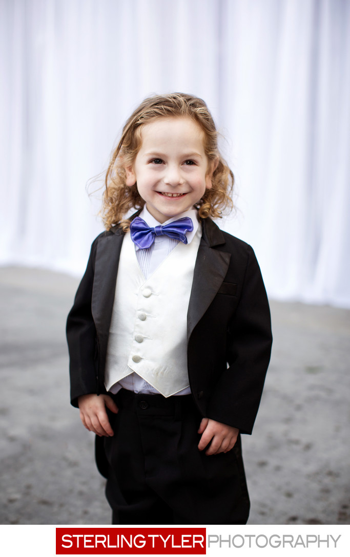 ring bearer portrait los angeles wedding photographer