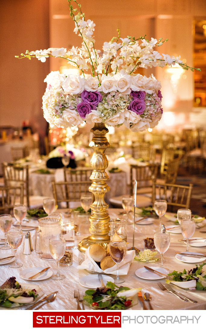sheraton universal wedding flowers photograph