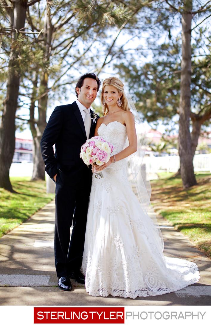 dana point wedding photographer bride portrait
