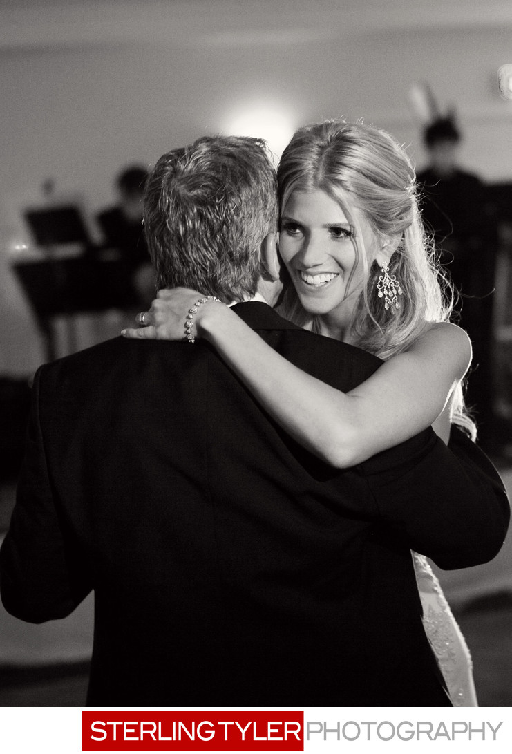 bride dancing with father photojournalism candid photo