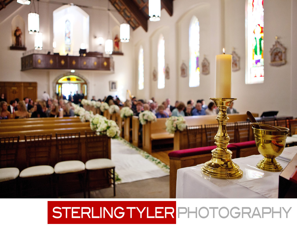 St Helena Catholic Church Napa Valley Wedding