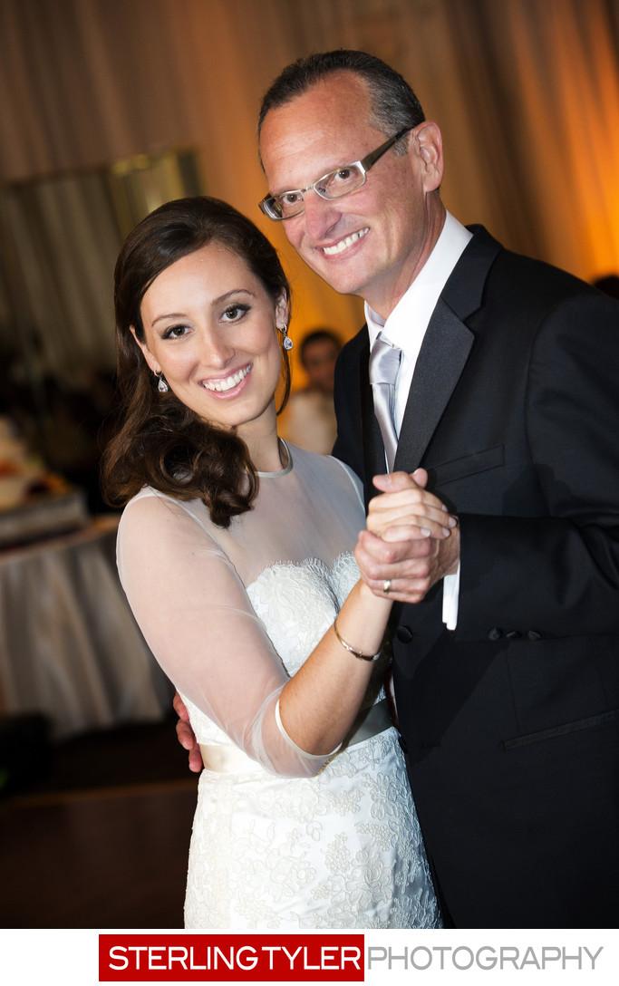 father daughter dance portrait wedding photograph