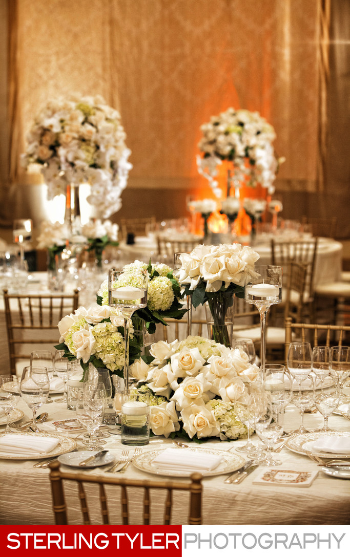 montage beverly hills ballroom wedding flowers decor