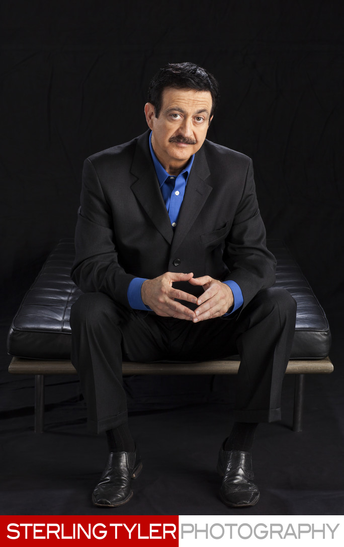 george noory coast to coast creative headshot