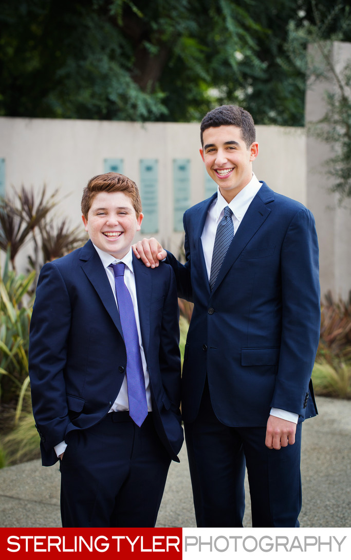 bar mitzvah brothers portrait