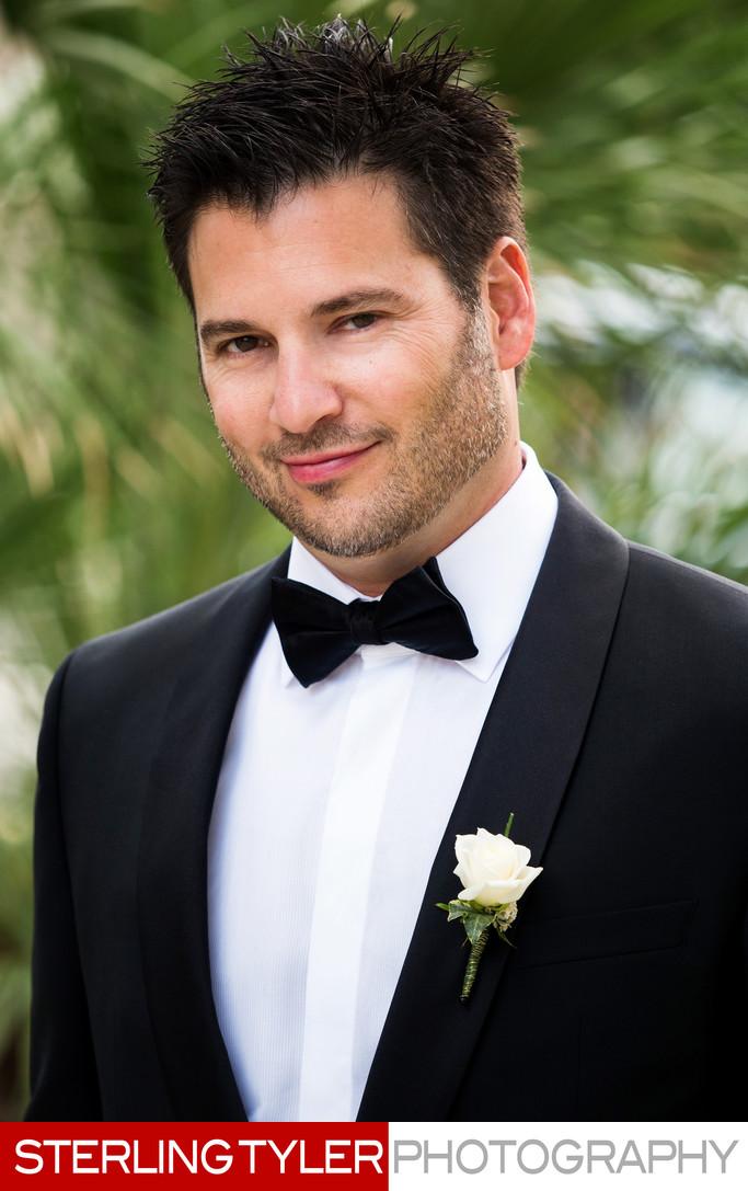 wedding portrait groom beverly hills photographer