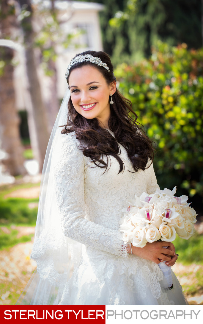 beverly hills bridal portrait by los angeles photographer sterling tyler