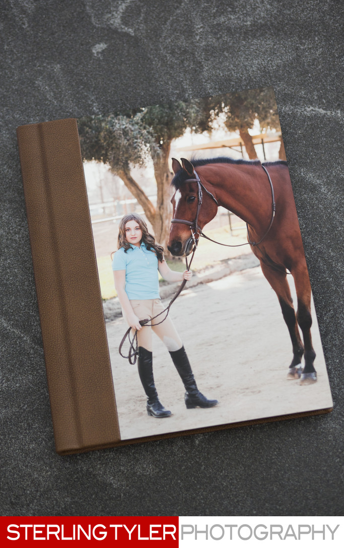 signature series bat mitzvah album with image plate cover