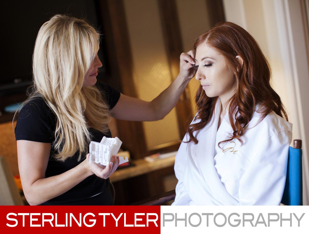 Makeup Artist Ron Ann Frey