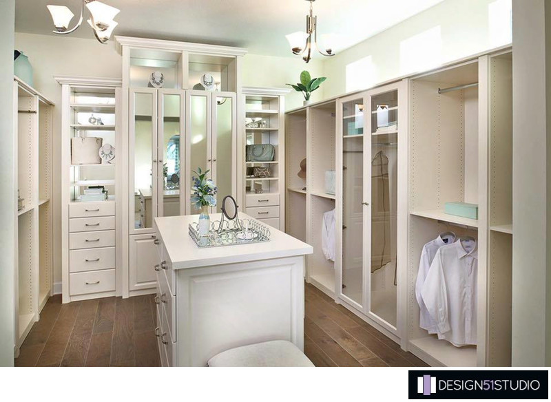 CALATLANTIC HOMES - OWNER CLOSET - HOLLY WIEGMANN - DESIGN 51 STUDIO
