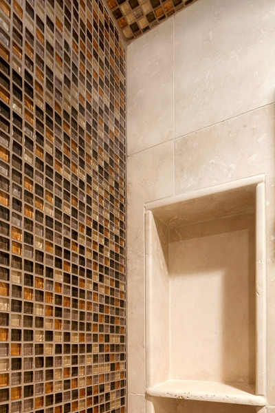 MODERN RIVERSIDE CONDO GUEST BATH - TILE DETAILS - HOLLY WIEGMANN - DESIGN 51 STUDIO