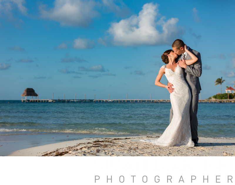 best wedding photographs in cancun at isla mujeres