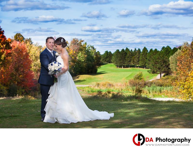 Wedding Photo at Glen Eagle Golf Club in Caledon