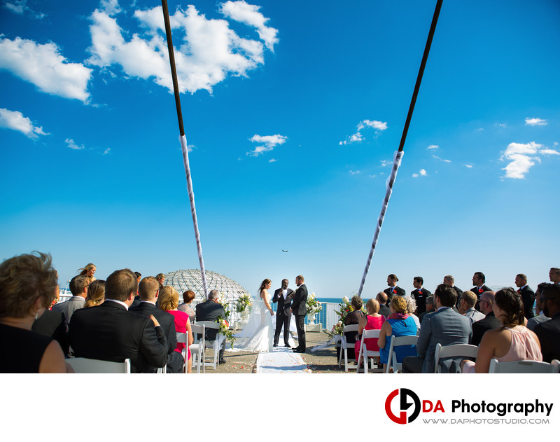 Outdoor Wedding at Atlantis Pavilions