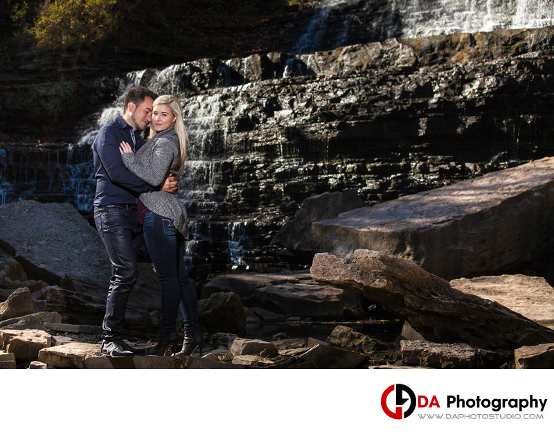Albion Falls Engagement Photographers