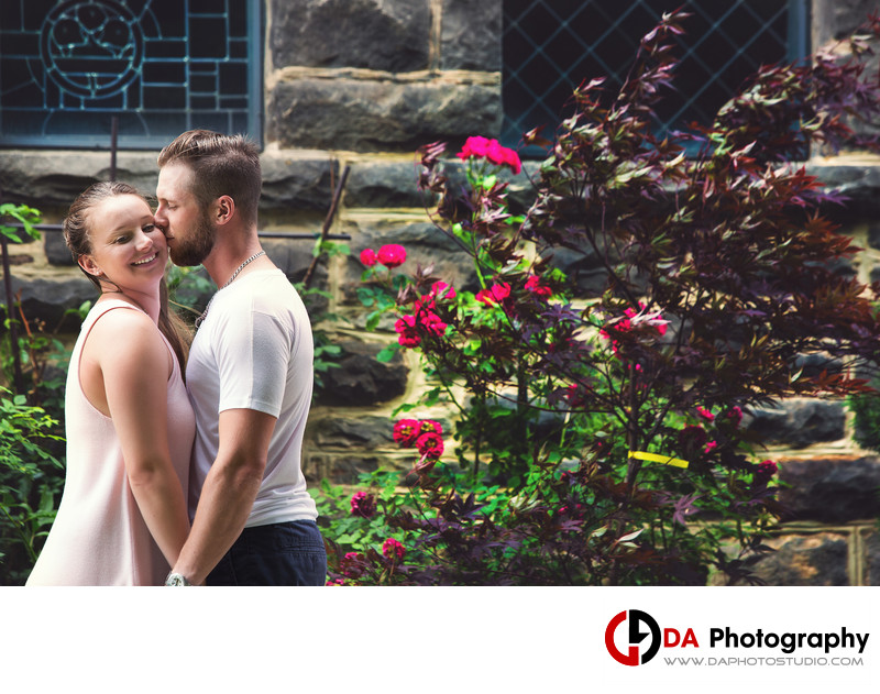 Engagement at Grace Anglican Church in Milton