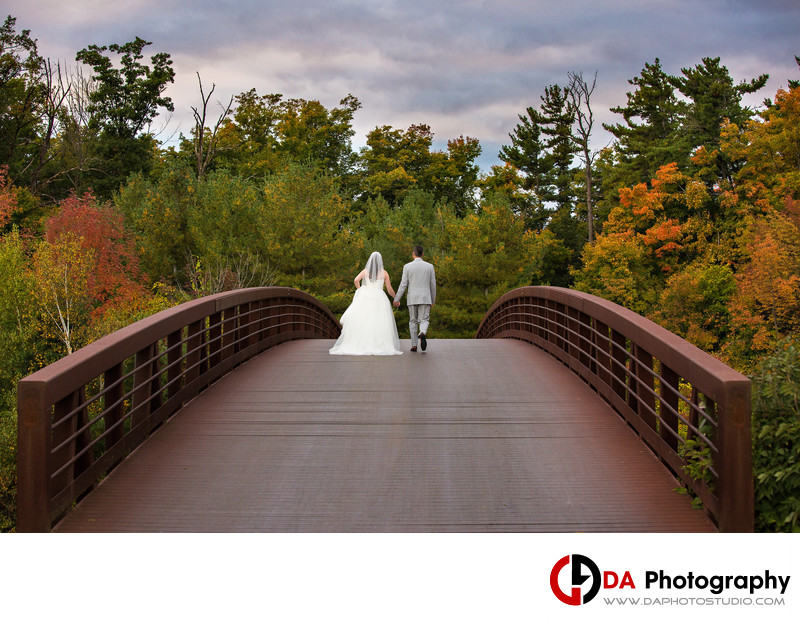Fall Wedding at Glencairn Golf Club