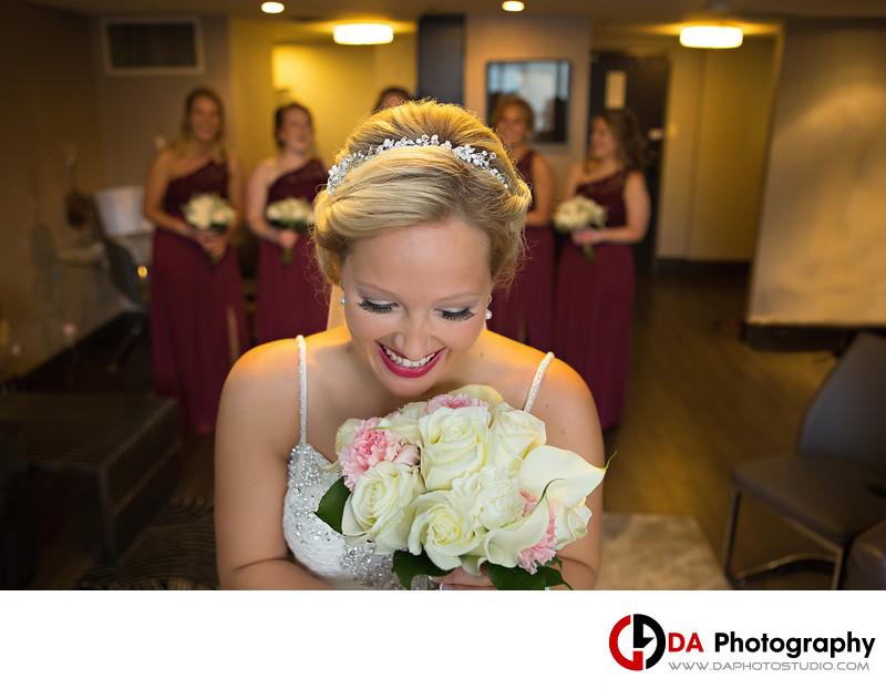 Bride in Hamilton