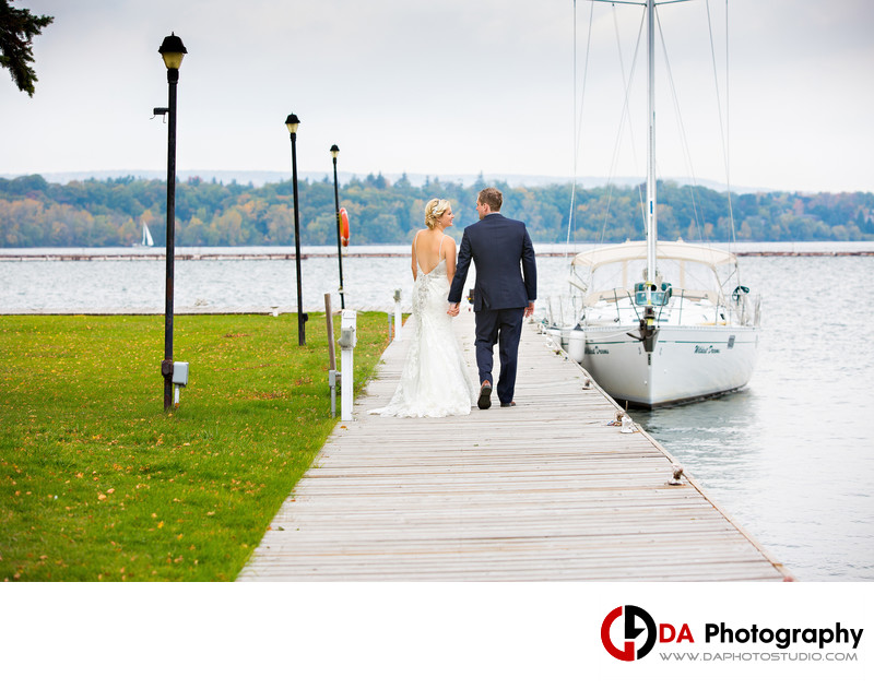 Fall Wedding at The Waterfront Centre