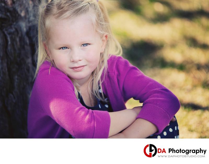 Children Portrait from Royal Botanical Garden Burlington