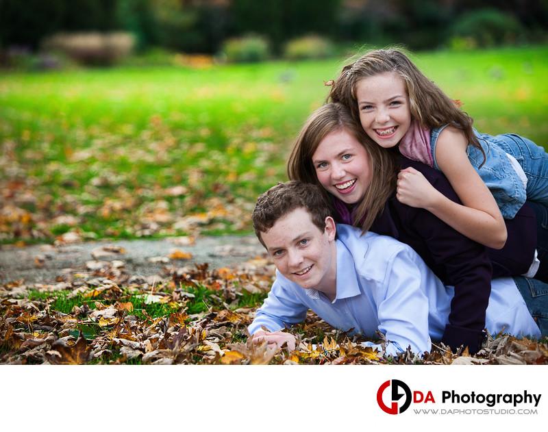 Top Children Photographer in Burlington for Fall Photos