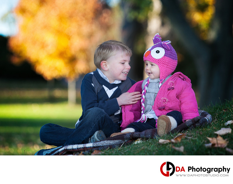 Paletta Mansion Fall Children Photographers