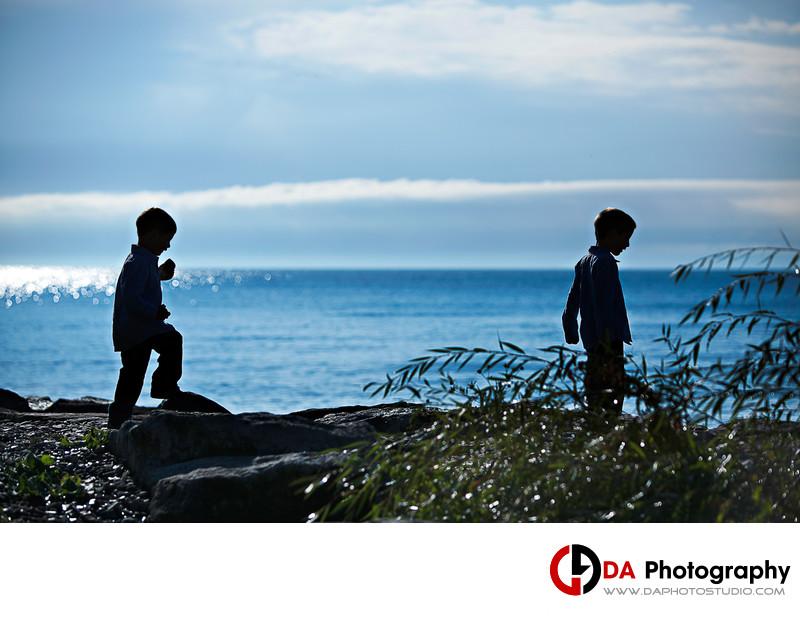 Beach Children Portrait at Paletta Mansion