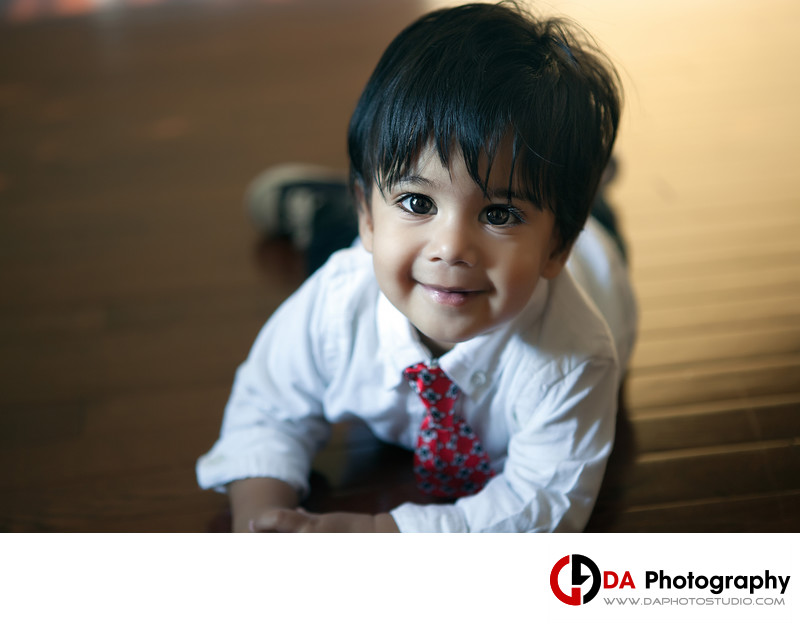 Toddler Portrait in Brampton