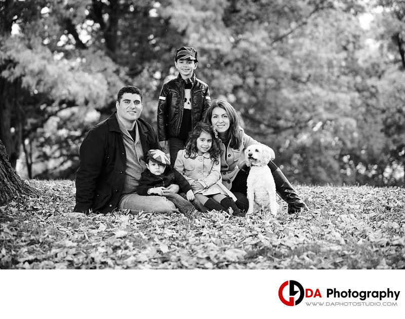 Fall Family Photographers at LaSalle Park and Marina