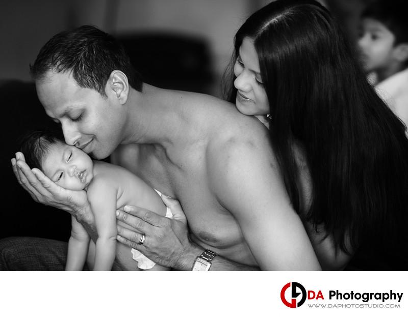 Photos of Family in Brampton
