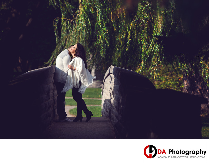 Engagement Photographers at Websters Falls