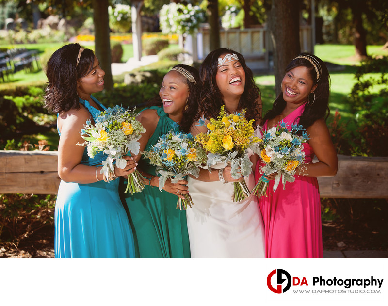 Fun Wedding Photographer in Brampton