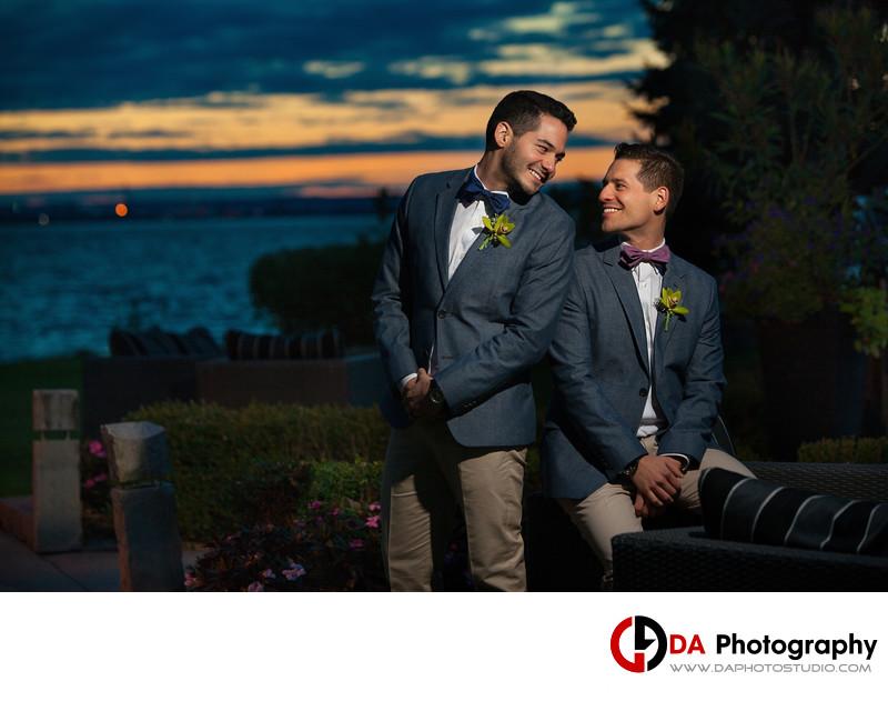 Edgewater Manor Gay Wedding