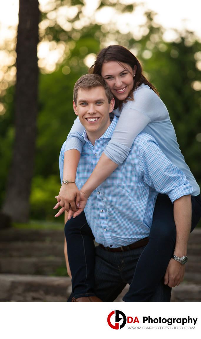 Beach Engagement at Paletta Mansion in Summer