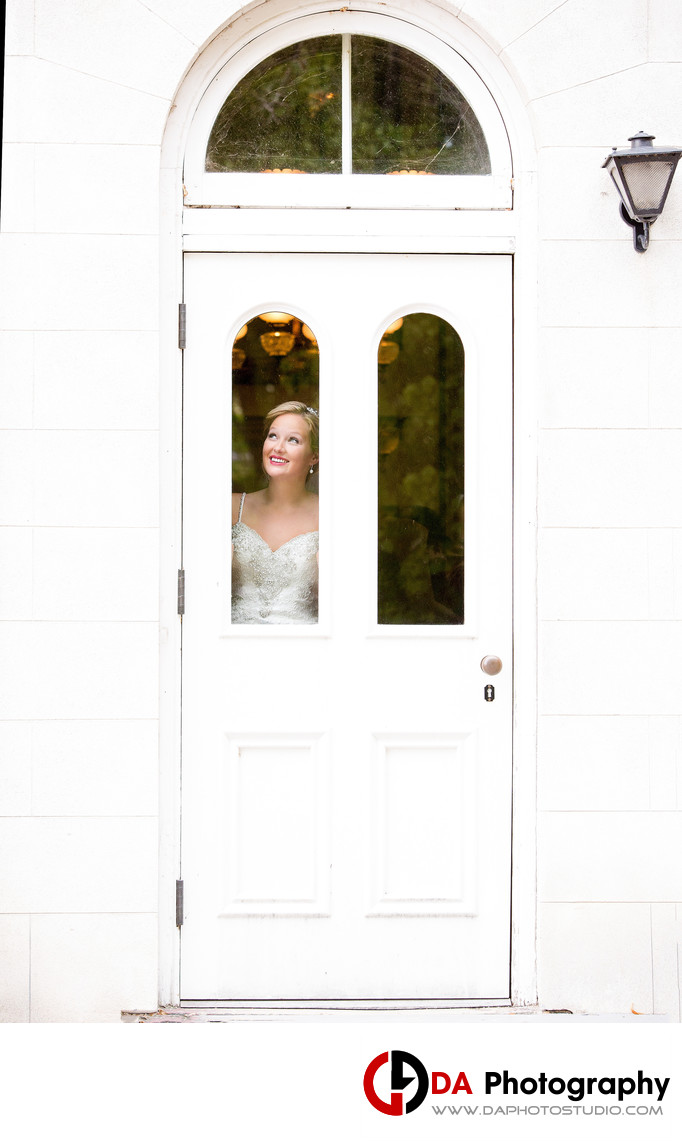 Bride at Dundurn Castle