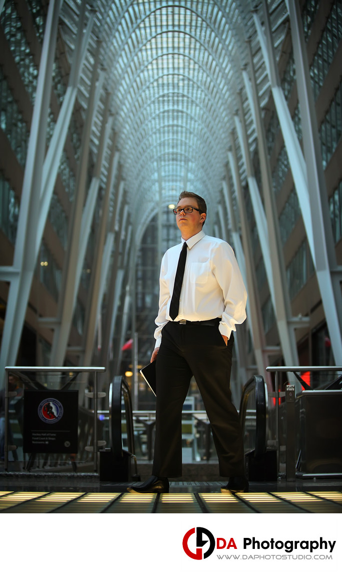 Creative Corporate Portraits in Toronto