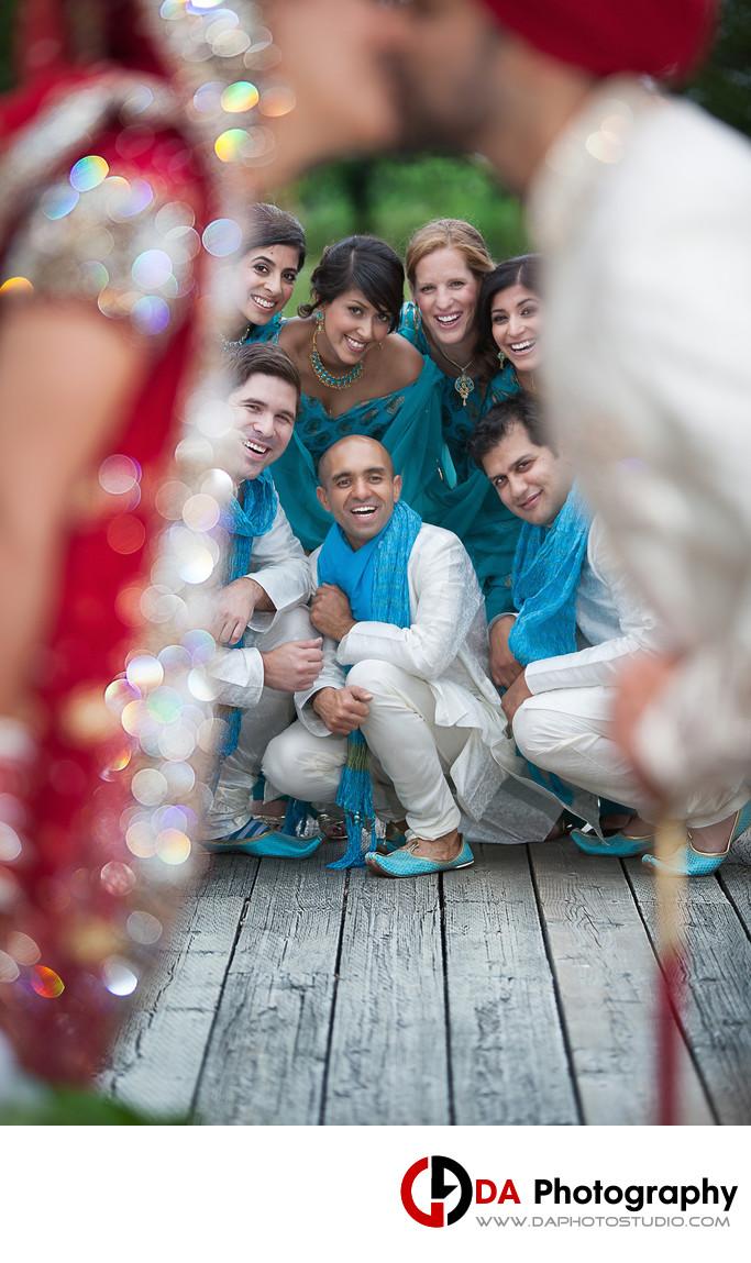 Bridal Party Photos at Milliken District Park