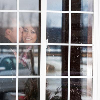 Winter Engagement at Parish Ridge Stables