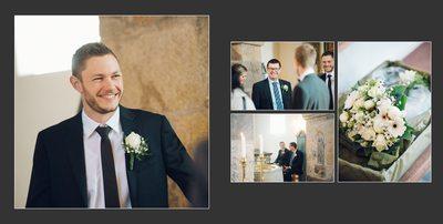 Hochzeitsfotograf Dänemark Kirche