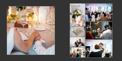 Hochzeitsfotograf Flensburg Tisch