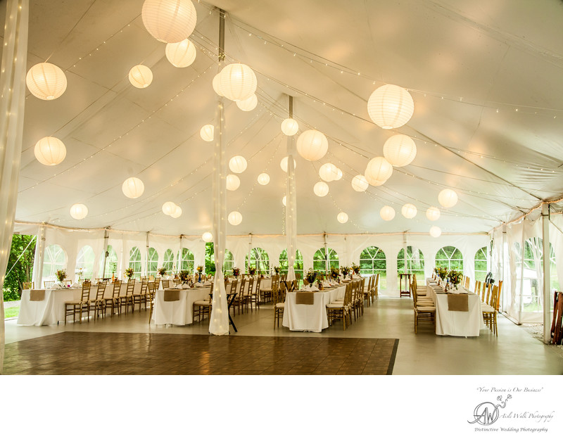 upstate ny wedding - reception space