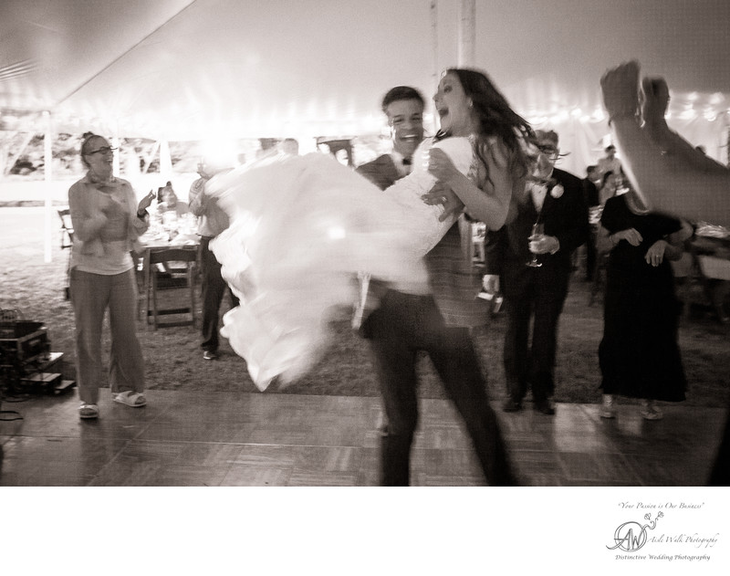 roxbury ny wedding photography dancing with bride