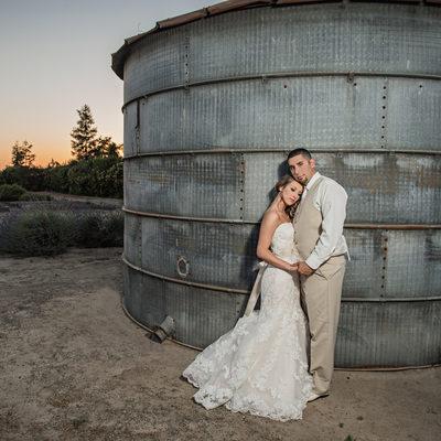 pageo lavender farm wedding photograph