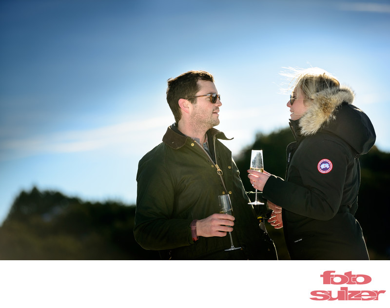 Verlobung am Untersberg
