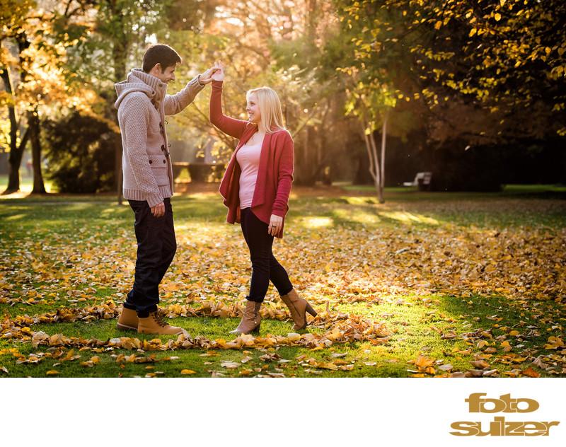 Verlobung - Shooting Hellbrunn - Engagement & Love Fotografie Salzburg