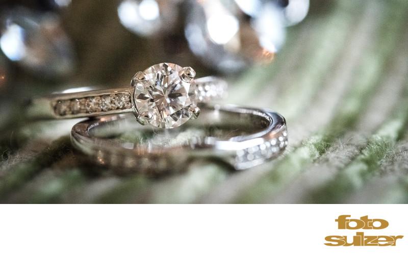 Verlobungsring und Ehering