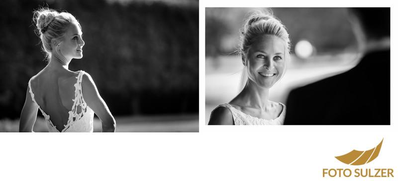 Portrait Session bei Hochzeit in Hellbrunn